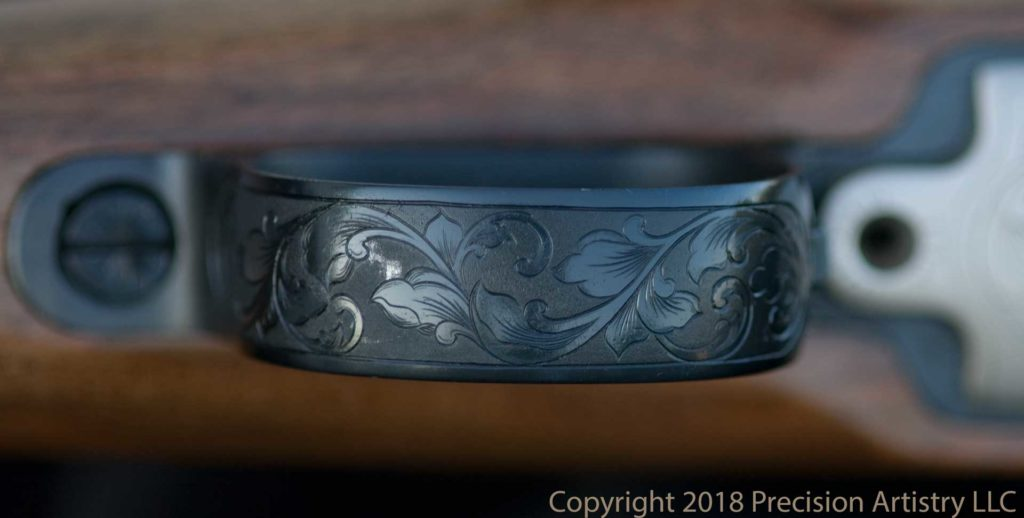 Trigger Guard engraved by Tira