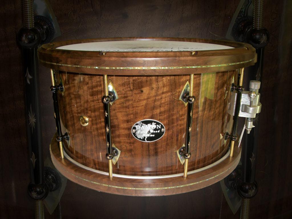 Damon Drum Engraved Lugs