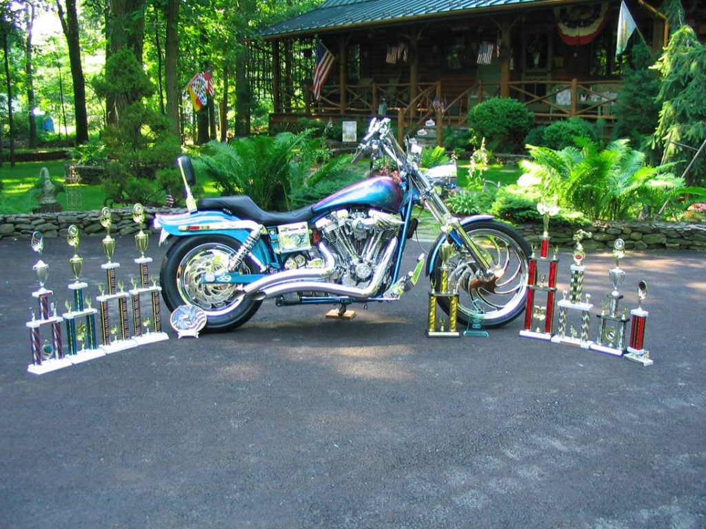 German Eagle Competition Bike with Awards