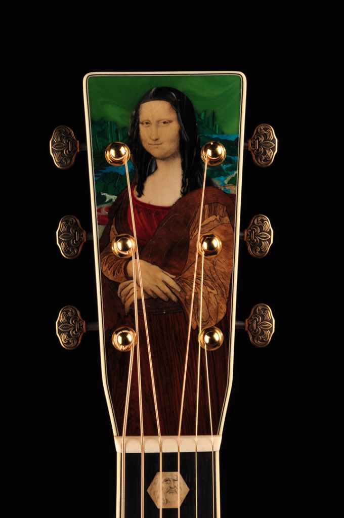 Martin Guitar's DaVinci Unplugged headstock
