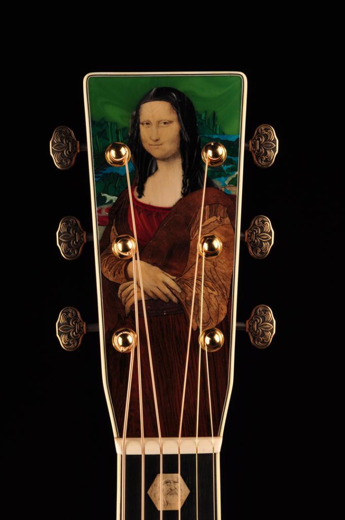 Martin Guitar's DaVinci Unplugged headstock